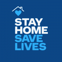 Stay home save lives COVID19